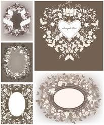 decorative floral wedding frames vector vector graphics blog Wedding Card Frame Vector decorative floral wedding frames vector wedding card border vector