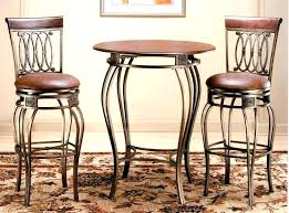 bistro table bar height bistro table and chair set used bar height bistro table bar height