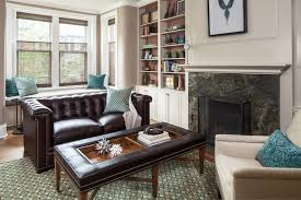 home office sofa. Tufted Leather Sofa Home Office Transitional With Accents Armchairs Art Beige. Image By: Samantha Friedman Interior Designs O