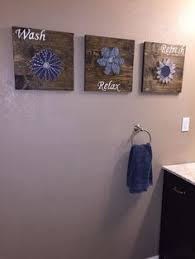 bathroom wall art ideas diy