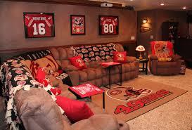 49ers Room Designs Hubbys 49er Mancave I Did For Him Man Cave Garage Man