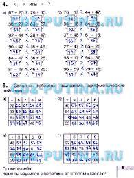 ГДЗ решебник по математике класс Истомина Редько рабочая тетрадь 5
