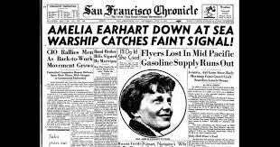 Chronicle Covers: The disappearance of Amelia Earhart - SFChronicle.com