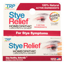 the relief s stye relief homeopathic lubricating eye ointment0 14 oz