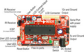 buy 40 pin pic development board lcd low cost in pic development board