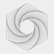 How To Draw A Geometrical Chart 12 Best Line Design Pattern Images Geometric Art