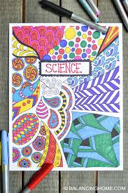 10 Creative Easy Ways To Decorate School Notebooks
