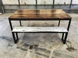 reclaimed wood dining room table modern modern rustic reclaimed wood and steel dining table industrial dining brooklyn modern rustic reclaimed wood