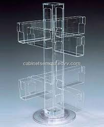 Lucite Stands For Display Rotating Gift Cards Stand Acrylic Greeting Card Display100 Pockets 84