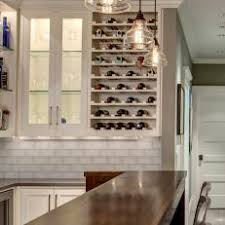 built in wine cabinet. Interesting Cabinet Stylish Transitional Basement Bar With BuiltIn Wine Storage Throughout Built In Cabinet V