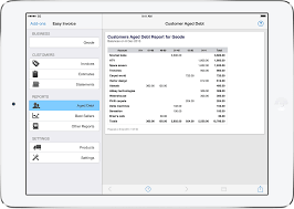 Pdf Invoicing For Ipad Iphone And Mac Easyinvoice