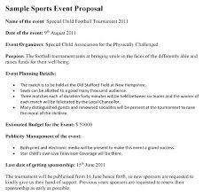 Sample Of Proposal Letters Sample Proposal For Cricket Tournament Fresh Sponsorship Letter