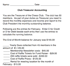 Club Treasurer accounting Click to open.
