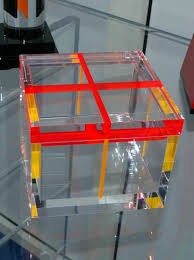 plexiglass box double