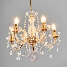 beautiful marie therese chandelier 5 fl