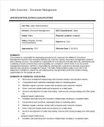 Sales Job Description | Template Business