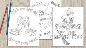 Sharpen the coloring pens or bring out the crayons and let your kid get creative. 25 Free Printable Halloween Coloring Pages The Artisan Life