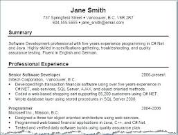 Example Resume Profile Statement Resume Profile Statement Example