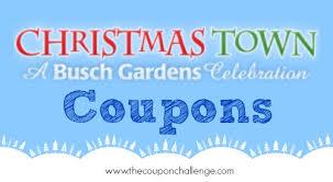 busch gardens deals. Busch Gardens Christmas Town Coupons Deals R