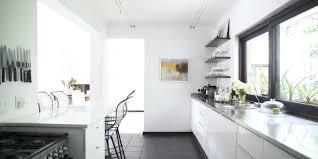 Small Galley Kitchens With White Cabinets Benshime