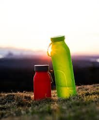 Bübi The <b>Collapsible</b>, BPA-Free, Eco-Friendly, <b>Silicone Water Bottle</b>