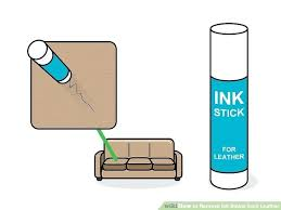 how to remove pen from leather image titled remove ink stains from leather step 6 remove