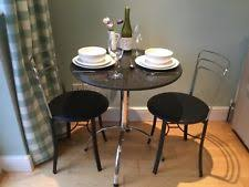 john lewis beautiful round granite top table and chairs excl used cond