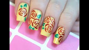 Летний Маникюр с Розами / Summer Floral <b>Nail</b> Art Tutorial ...