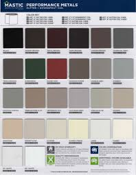 Aluminum Trim Coil Color Chart You Will Love Exterior Brick Color Chart 2019