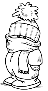 Printable Interactive Winter Coloring Pages Winter