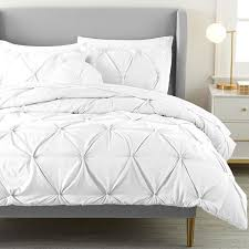 microfiber pintuck twin xl comforter