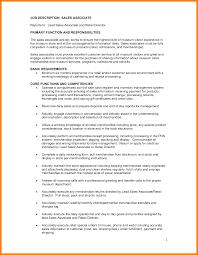 Customer Service Retail Job Description For Resume Unique Job