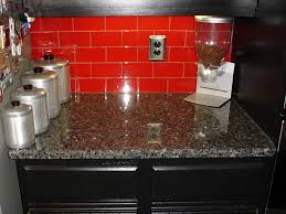 28 red kitchen tile backsplash colorful backsplashes red glass and stone mosaic tile