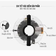 Đèn Led Gắn Bánh Xe Đạp 7 Màu (Trục Giữa phi 19-36mm) Có Sạc Điện USB Chống  Nước Trang Trí Cho Xe Đạp Người Lớn Mai Lee - Phụ kiện - Đồ