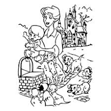 Small Picture 10 Best 101 Dalmatians Coloring Pages For Your Little One