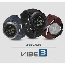 <b>Zeblaze VIBE 3</b> Smart Watch Luminous Dial Wristband Remote ...