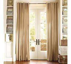Window Treatments Metal Doors How To Hang Curtains On Metal French Doors Curtain Menzilperdenet
