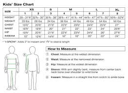 Sizing Chart Belgin Boutique Com