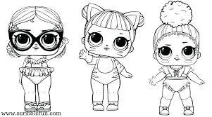Dolls Coloring Pages Online Online Lol Dolls Coloring Pages Online
