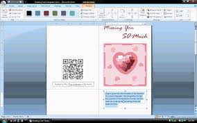 how to create a birthday card on microsoft word ms word tutorial part 1 greeting card template inserting and