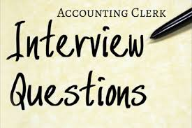 Accounting Interview Questions Mesmerizing 48 Of The Best Accounting Clerk Interview Questions Robert Half