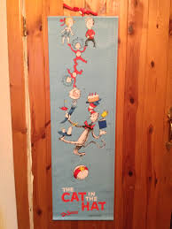 Our Dr Seuss Cat In The Hat Height Chart Cats Height