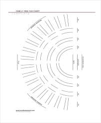 Fan Family Tree Charts Templates 9 Family Tree Chart Templates Free Samples Examples