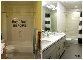 simple bathroom remodel before and after. Interesting And Bathroom Renovation Ideas  MENu0027s Bath To Simple Remodel Before And After