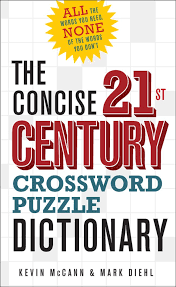 the concise 21st century crossword puzzle dictionary kevin mccann mark hl 9781454907053 amazon books