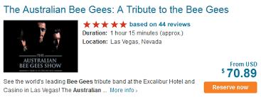Australian Bee Gees Review Show Preview Exploring Las Vegas
