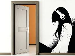 anime wall decals as well as zoom anime vinyl wall decals zgr
