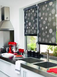 Country Blind Inspiration  SeaIvory Cambridge Stripe Blinds Best Blinds For Kitchen Windows