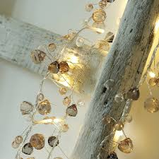 Crystal Chic Fairy Lights Coco Crystal String Lights Wedding Chic Chain Fairy Lights