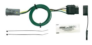 amazon com hopkins 40915 plug in simple vehicle wiring kit 7 pin trailer wiring harness at T Connector Wiring Harness